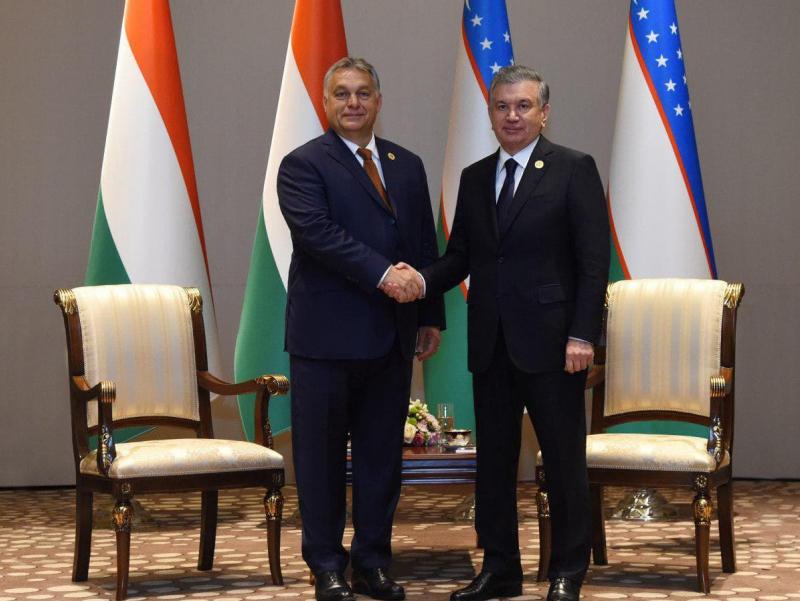 Венгрия Бош вазири Ўзбекистонга келди