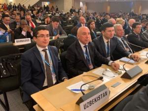 Алишер Шодмонов ЖССТ Европа минтақаси бўйича вице-президент этиб сайланди