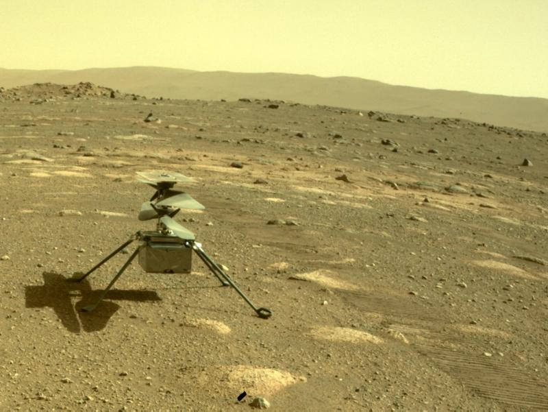 NASA Marsda ilk vertolyot parvozini amalga oshiradi