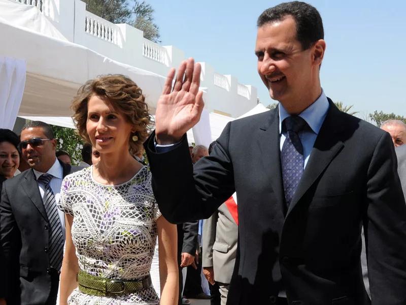 АҚШ Сурия Президенти ва унинг рафиқасига санкция жорий этди