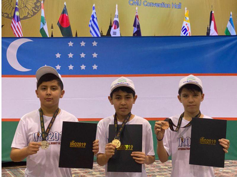Ўзбек роботехниги халқаро мусобақада олтин медаль ютди