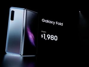 Samsung олти камерали Galaxy Fold буклама смартфонини тақдим қилди