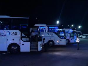 Водийга Тожикистон орқали буюртма автобус қатнови йўлга қўйилди
