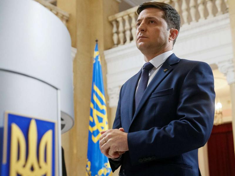 Украина МСК: Зеленский президентлик сайловида ғалаба қозонди