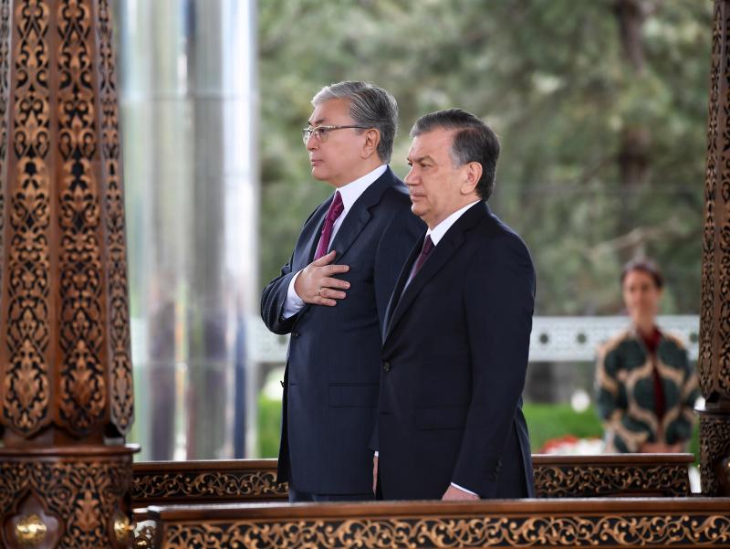 Mirziyoyev To'qayev bilan MDH sammitiga tayyorgarlikni muhokama qildi