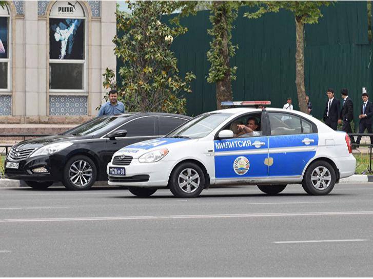 Душанбеда Lexus`да кетаётган Марадонна қўлга олинди