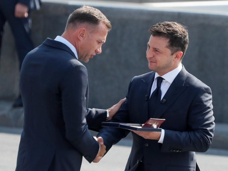 Украина Президенти Андрей Шевченкога давлат мукофоти топширди