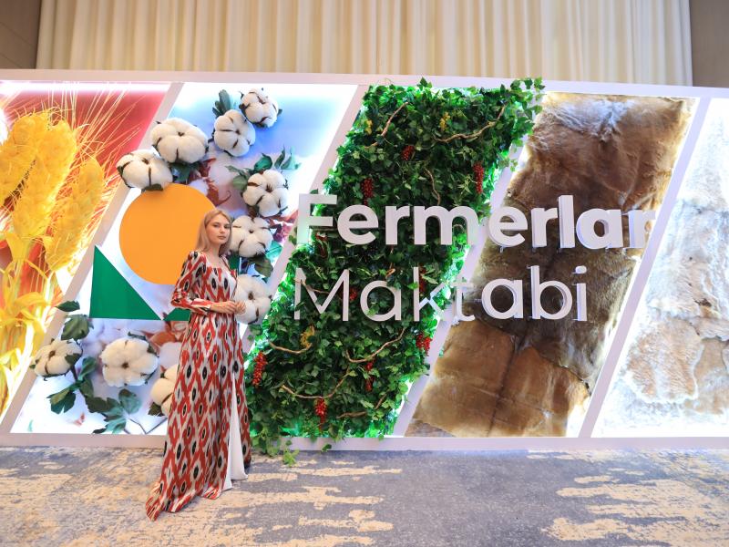 Agrobank tashabbusi bilan O'zbekistonda ilk bor fermerlar maktablari ochildi