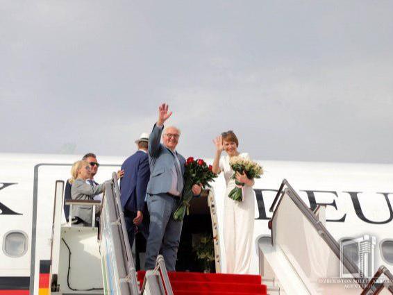 Германия Президентининг Ўзбекистонга ташрифи якунланди