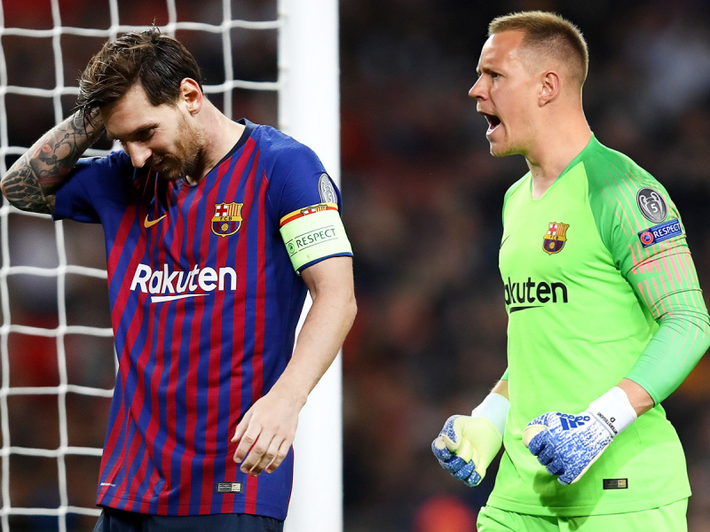 """Барселона"" 45 йил ичида илк маротаба ""Реал"" дарвозасига гол ура олмади"