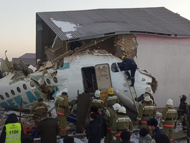 Қозоғистондаги авиаҳалокат: Bek Air самолёт урилган уй эгасини судга берди