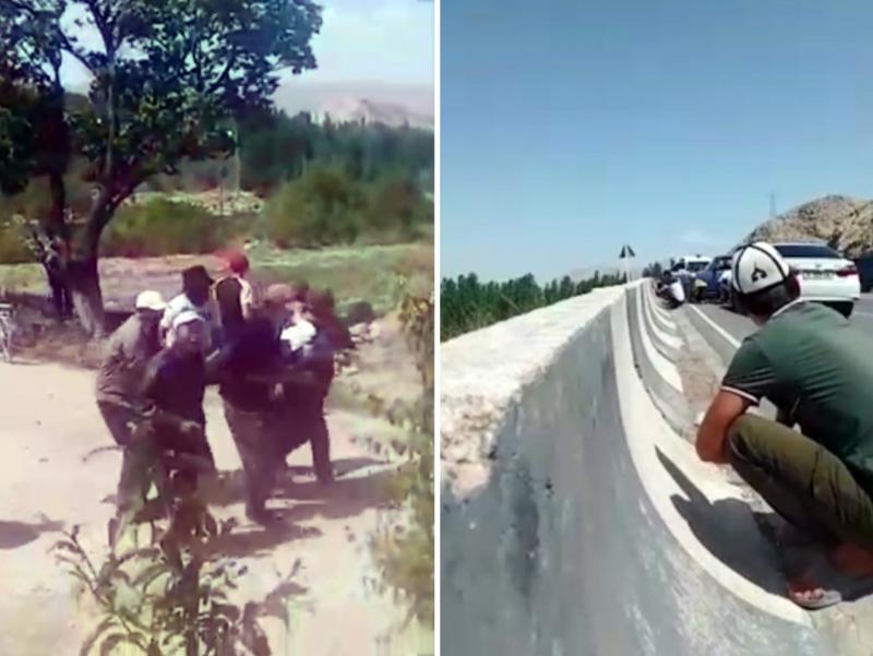 Қирғиз-тожик чегарасида отишма бошланди (видео)