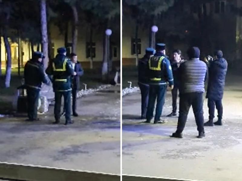 Тошкентда собиқ депутат Дусов ЙПХ ҳодимлари билан жанжаллашди