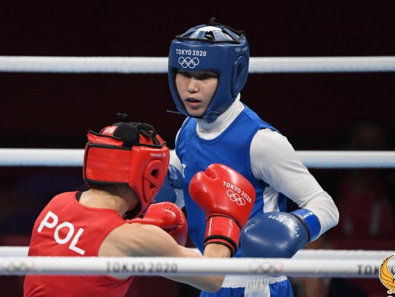 Tursunoy Rahimova Olimpiya o'yinlarida g'alabaga erishgan ilk o'zbekistonlik bokschi qizga aylandi
