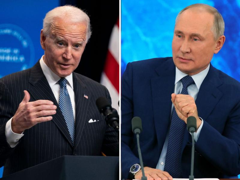 Bayden-Putin uchrashuvi vaqtlari ma'lum bo'ldi
