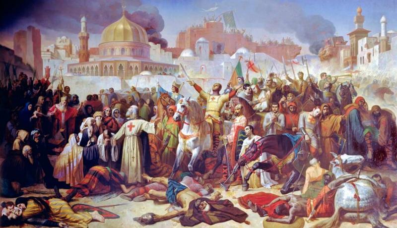 O'rta asr genotsidi yoxud Quddus uchun musulmonlarga qarshi ochilgan urush