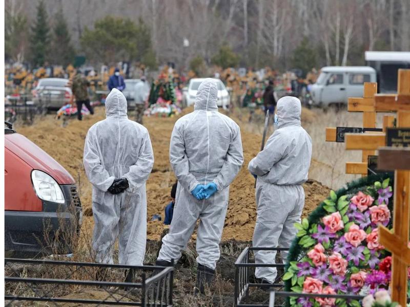 Rossiyada koronavirusdan rekord darajada o'lish holati qayd etildi