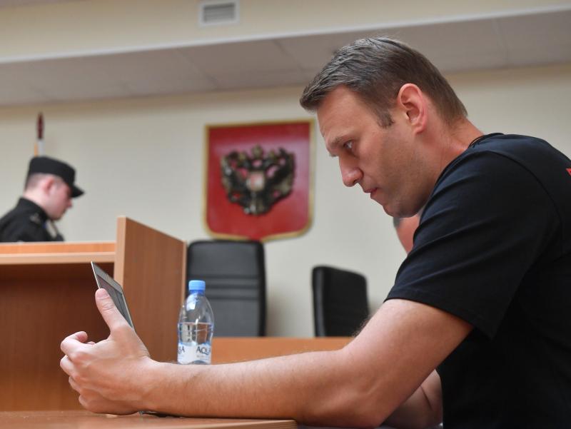 Навальний очликни тугатганини эълон қилди