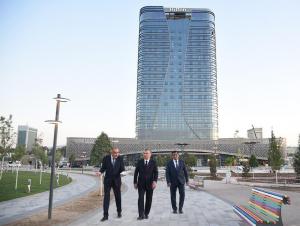 """Tashkent city""даги кўчаларга ном берилди"