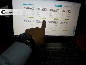 """Онлайн аукционда 3 млрдлик """"чиройли"""" авторақамлар сотилди"""